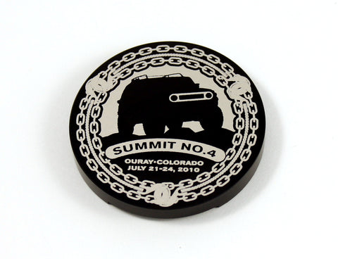 2010 FJ Summit Badge Replica