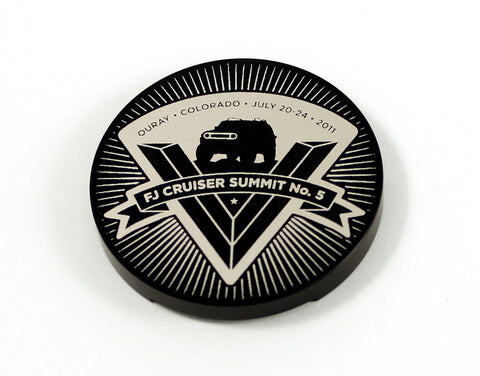 2011 FJ Summit Badge Replica