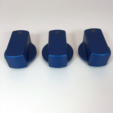 Blue Precision Climate Control Knobs