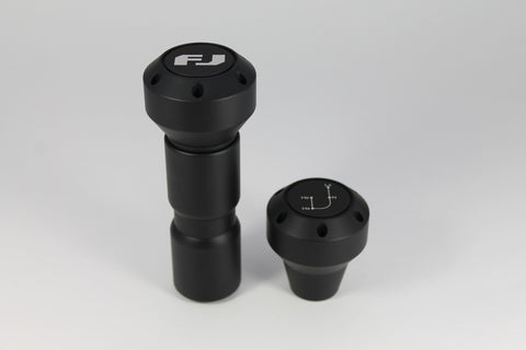 Stealth Black 5th Gen 4Runner Shift Knob Set - Automatic Transmission