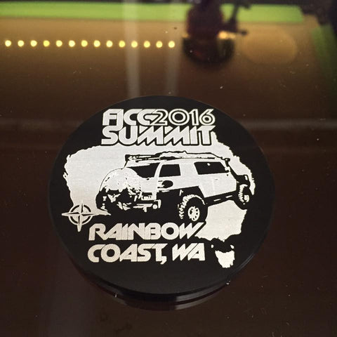 2016 FJ Summit Australia Badge Replica