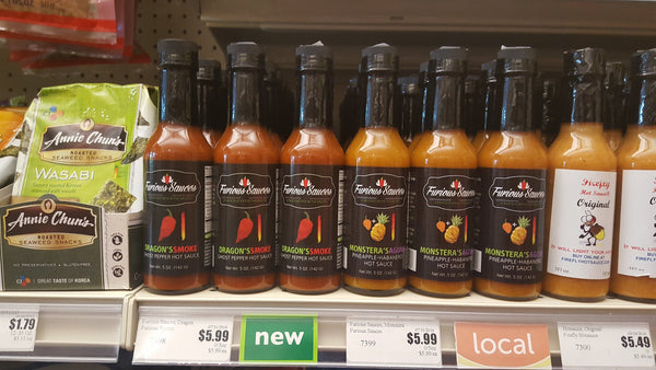 Furious Sauces at the Friendly City Food Co-op in Harrisonburg Virginia