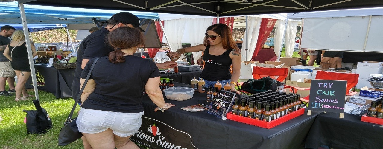 Furious Sauces at ValleyFest Food and Wine Festival!