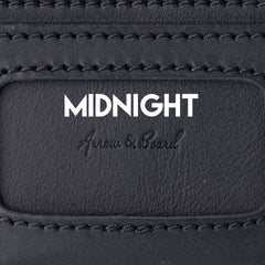 Midnight Carbon Black Leather