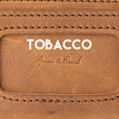 Tobacco Brown Leather