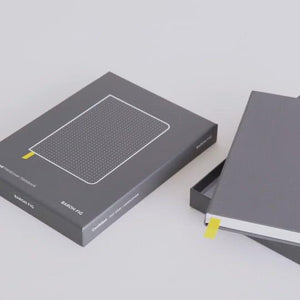 Load and play video in Gallery viewer, Baron Fig Confidant Hardcover Notebook