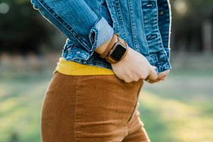 Triple Tour™ Apple Watch Band - Tobacco