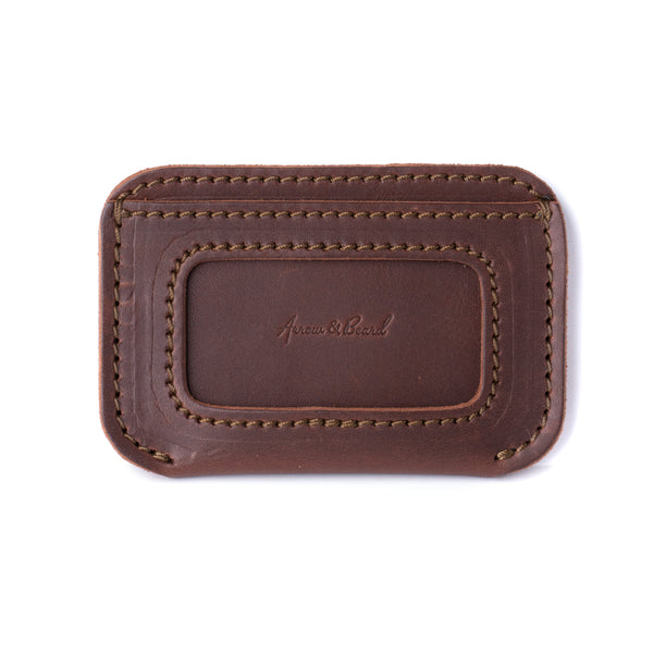 Simple ID Wallet - Chestnut