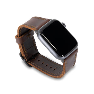 Porter Apple Watch Band - Chestnut