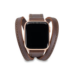 Triple Tour™ Apple Watch Band - Chestnut