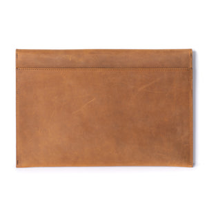 Leather iPad Pro Envelope Case - Tobacco