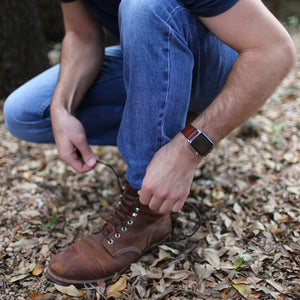 Simple Watch Band - Medium Brown