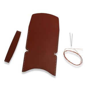 Make Your Own - Leather Flap Wallet Kit