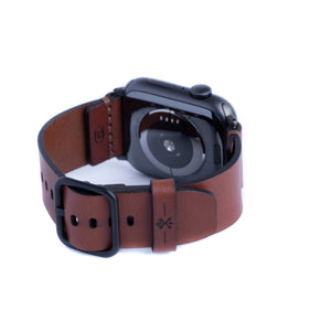 Porter Apple Watch Band - Medium Brown
