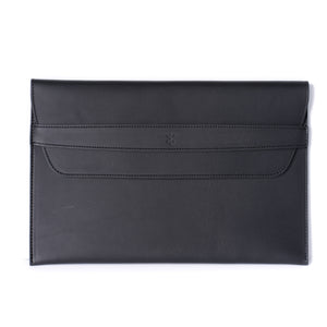 Load image into Gallery viewer, Leather iPad Pro Envelope Case - Black