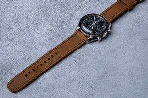 Porter Watch Strap - Tobacco