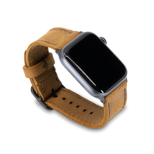 Porter Apple Watch Band - Tobacco