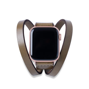 Triple Tour™ Apple Watch Band - Olive