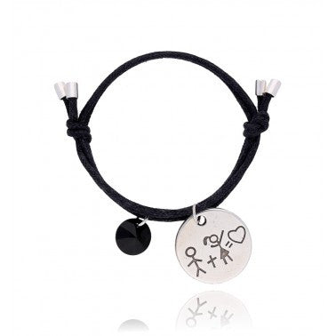 By Dziubeka Ireland Black Bracelet BMH1439