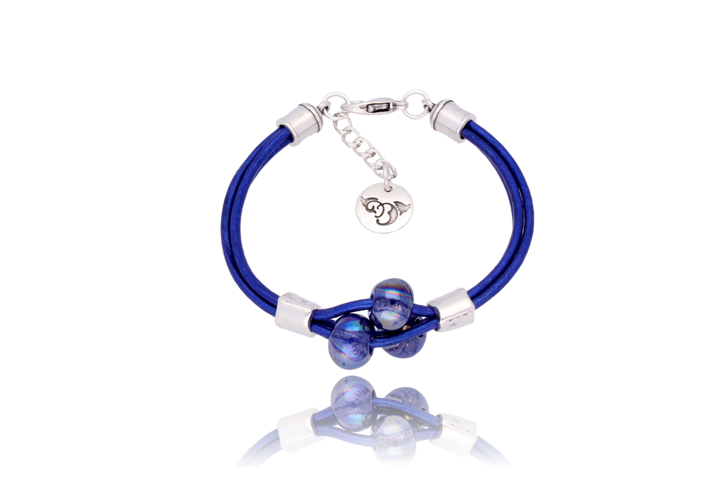 By Dziubeka Ireland Cobalt Bracelet with Cobalt Ceramics BIL5554