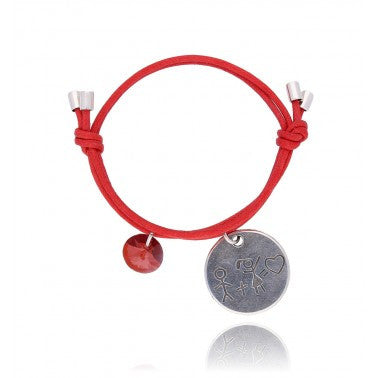 By Dziubeka Ireland Red Bracelet BMH1438