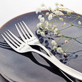Always and Forever - Stamped Wedding Forks (Add a Custom Wedding Date)