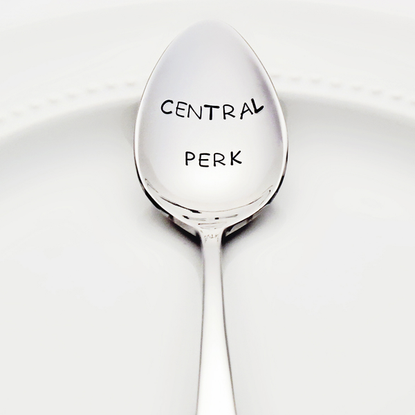 Central Perk - Stamped Spoon for FRIENDS fans