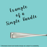 Eat Clean - Stamped Fork for Healthy Eaters