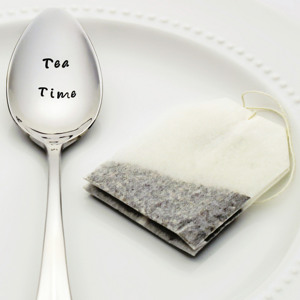 Tea Time - Stamped Spoon