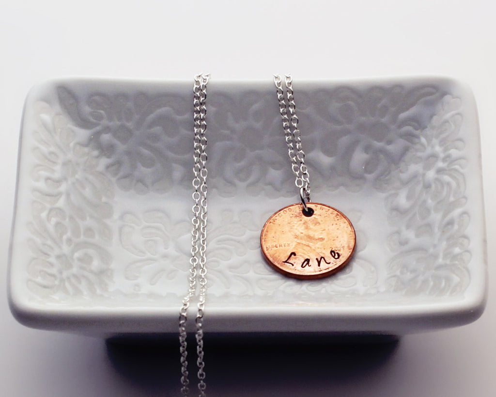 "Penny ""Lane"" - Penny Necklace"