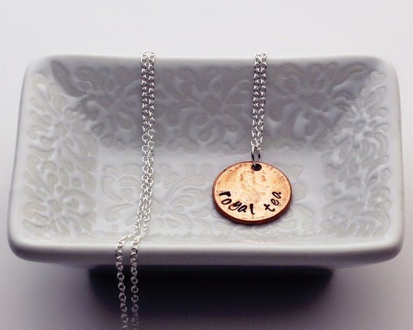 "Nirvana ""Pennyroyal Tea"" - Penny Pendant Necklace"