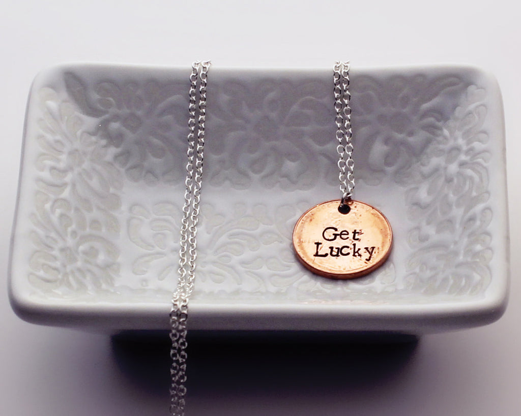 "Daft Punk ""Get Lucky"" - Penny Necklace"