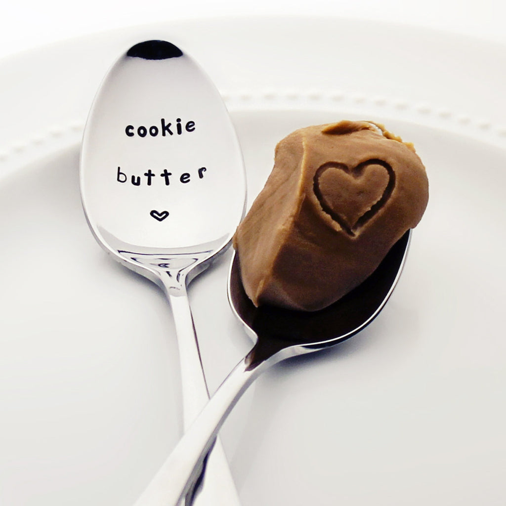 Cookie Butter - Stamped Spoon