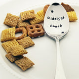 Midnight Snack - Stamped Spoon with Stars