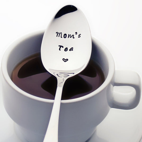 Mom's Tea - Stamped Teaspoon