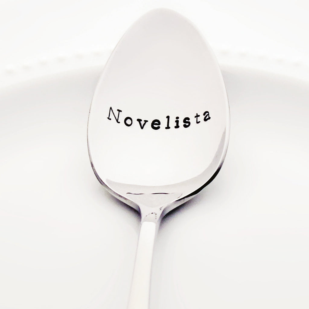 Novelista - Stamped Spoon for Readers and Writers