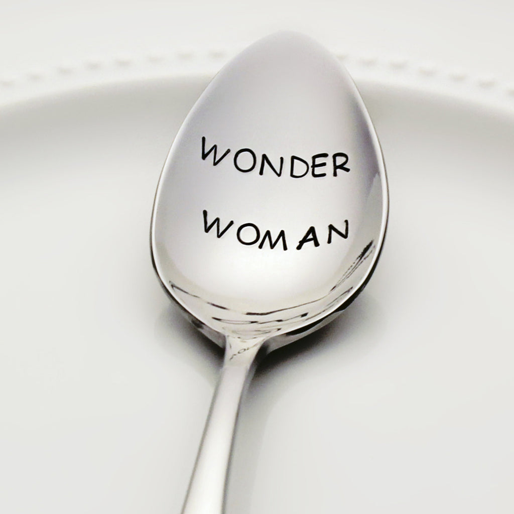 Wonder Woman - Stamped Spoon for Awesome Women