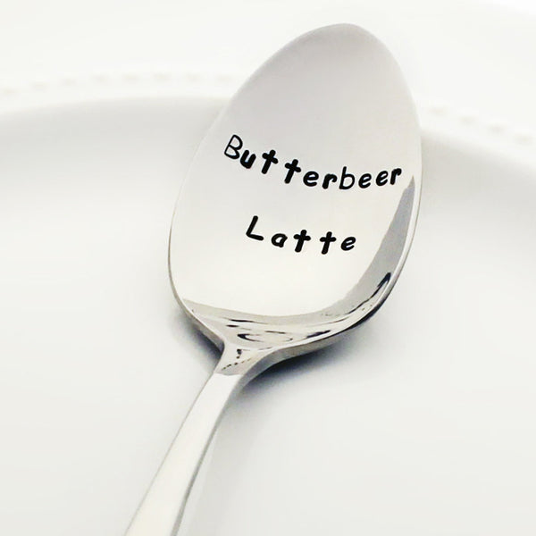 "Harry Potter: ""Butterbeer Latte"" - Stamped Spoon"