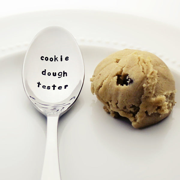 Cookie Dough Tester - Stamped Spoon for Cookie Lovers