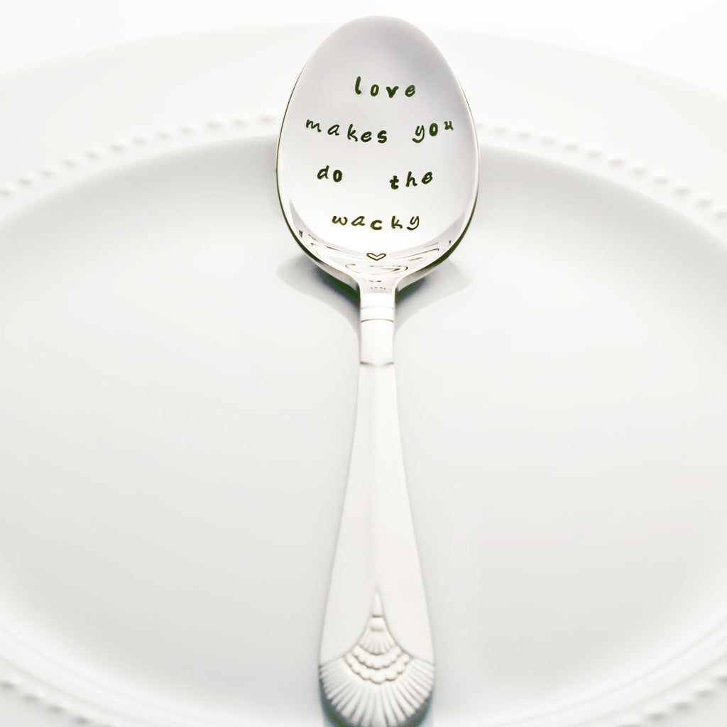 "Buffy the Vampire Slayer: ""Love Makes You Do the Wacky"" - Stamped Spoon"