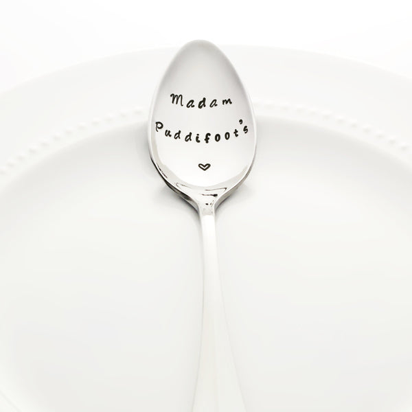 "Harry Potter: ""Madam Puddifoot's"" - Stamped Spoon"