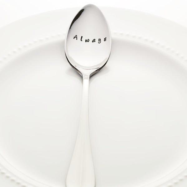 "Harry Potter: ""Always"" - Stamped Spoon"