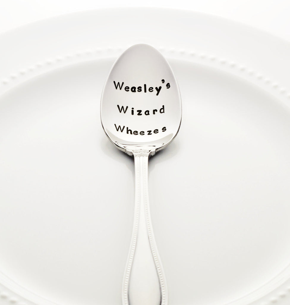 "Harry Potter: ""Weasley's Wizard Wheezes"" - Stamped Spoon"