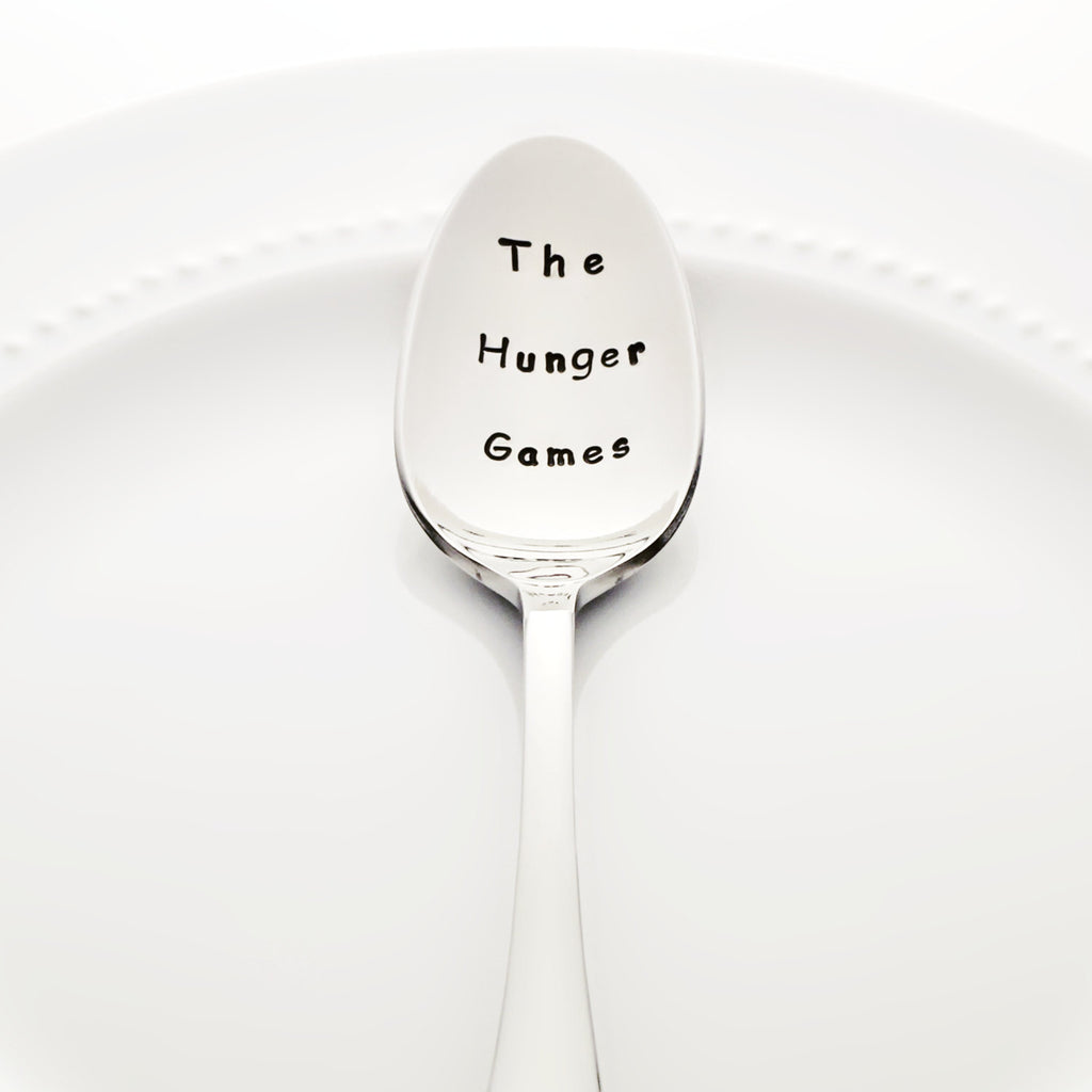 The Hunger Games - Stamped Spoon
