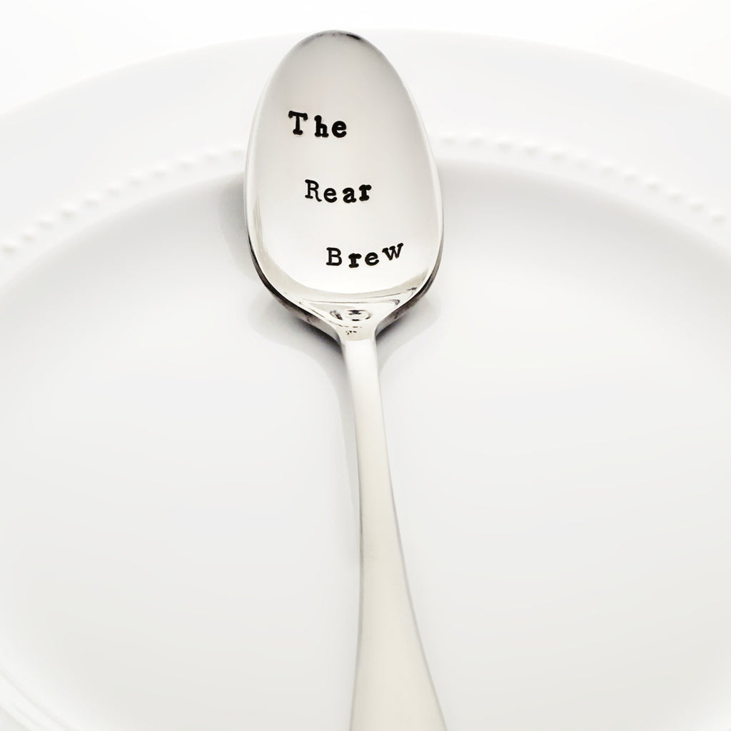 "Pretty Little Liars: ""The Rear Brew"" - Stamped Spoon for PLL fans"