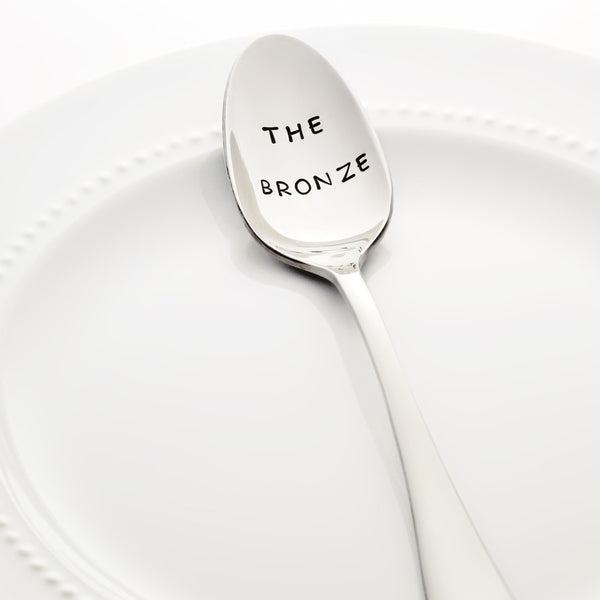 "Buffy the Vampire Slayer: ""THE BRONZE"" - Stamped Spoon"