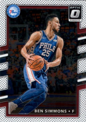 2017/2018 Donruss Optic - Ben Simmons #114 - Iconic Relics