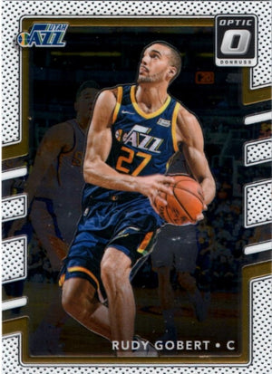 2017/2018 Donruss Optic - Rudy Gobert #142 - Iconic Relics