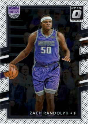 2017/2018 Donruss Optic - Zach Randolph #130 - Iconic Relics
