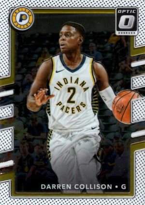 2017/2018 Donruss Optic - Darren Collison #60 - Iconic Relics